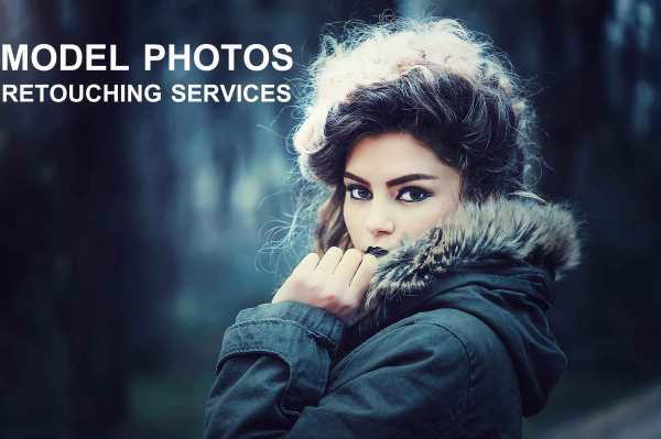 Model photography retouching services